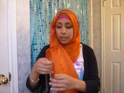 "Voluminous ""Arab"" Hijab Tutorial using the Bulky-Jab"