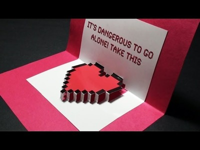 Zelda Pop Up: Valentine's Day Heart Card - TCGames [HD]!
