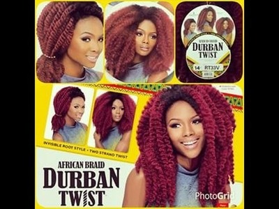 African Braid Durban Twist Hair Review