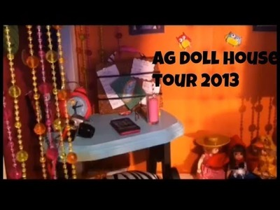 Ag doll house tour 2013