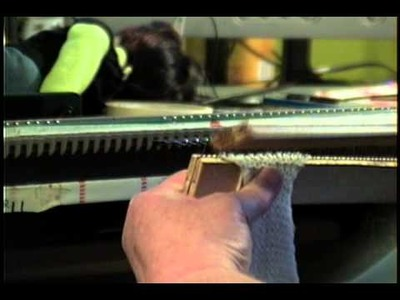 Another look at the home made garter bar.wmv