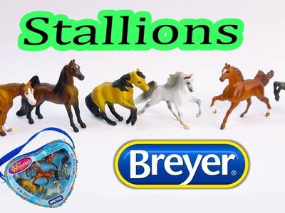 Breyer Horses Mini Whinnies 2005 Stallion Set Model Micro Horse Breyers Toy Review HoneyheartsC