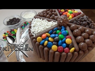 CHOCOLATE CANDY CAKE - VIDEO RECIPE