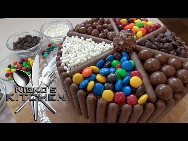 CHOCOLATE CANDY CAKE - VIDEO RECIPE