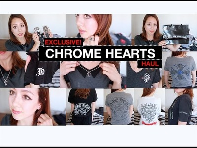 CHROME HEARTS Haul | Jewelry, Belts, Clothing Items