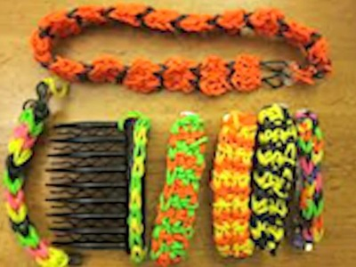 Cool! Rainbow Loom Ideas!