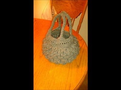 Crocodile Stitch Hand bag