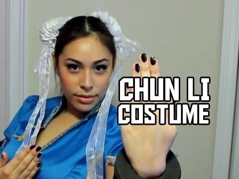 Cupquakes Chun Li Costume