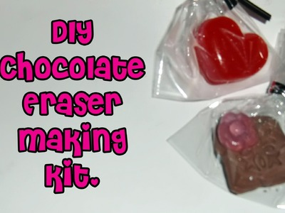 Debika DIY Chocolate Eraser Kit Tutorial !