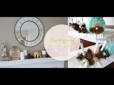Fall.Thanksgiving Decor House Tour | Charmaine Manansala