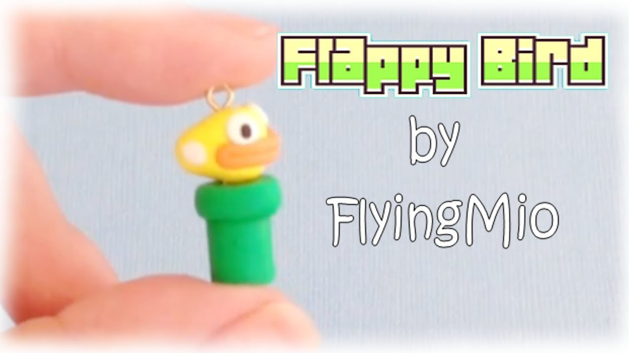 Flappy Bird Polymer Clay Tutorial