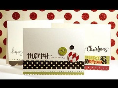 Holiday Cards - Make a Card Monday #86