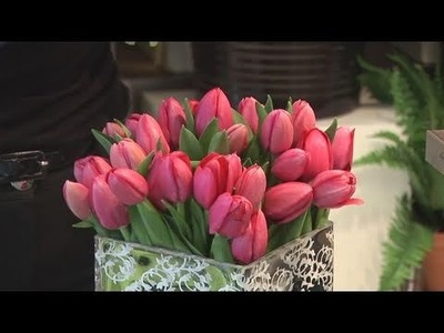 How To Arrange Tulips