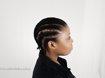How To Braid Cornrows Full DVD Tutorial