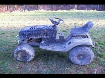 How To: Build an Off Road Lawn Mower