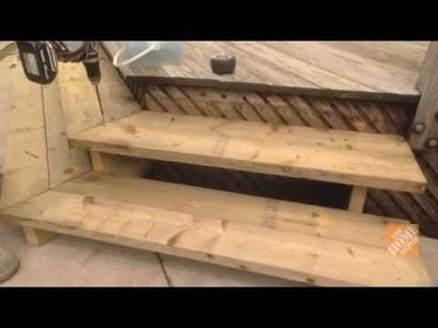 How To Build Stairs To A Deck