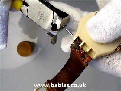 How to change your Swatch watch strap - Babla's Jewellers