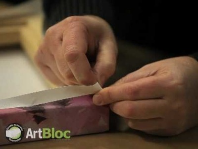 How to Create Neat Box Canvas Corners