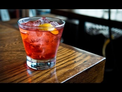 How to Make a Boulevardier cocktail - Liquor.com