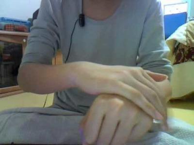 How to make a coin go through your hand magic trick