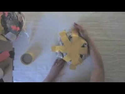 How to Make a Fried Egg Duct Tape Halloween Costume