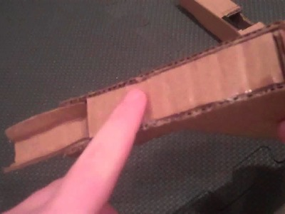 How to Make a Paper. Cardboard Pistol: Glock 18. 17 (tutorial) part 2 of 2