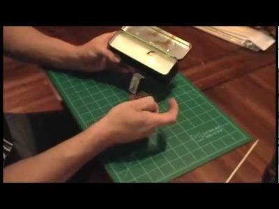 How to make blowgun darts.