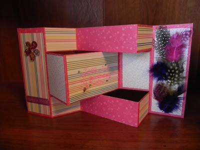 How to Make Cards: Tri-Fold Shutter Card Tutorial