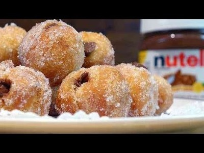 How to Make Nutella-Stuffed Cronut Holes   Eat the Trend