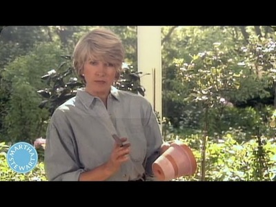 How to Paint Terracotta Pots -Throwback Thursday - Martha Stewart