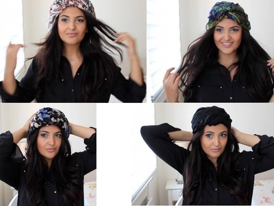 How to: Wear a Scarf.Headscarf Fashionably