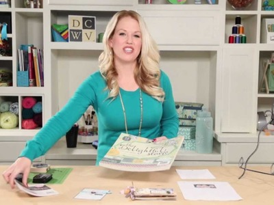 Learn with Jo-Ann: Make a Mini-Album with DCWV Delightful & Adhesive Fabric Stacks