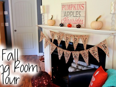Living Room Tour - Fall Edition + New Bedroom Sneak Peek