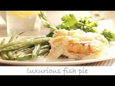 Luxurious Fish Pie (Tesco Recipe Video)