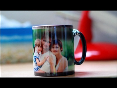 MAGIC PHOTO MUG (Photos appear when you add hot water)