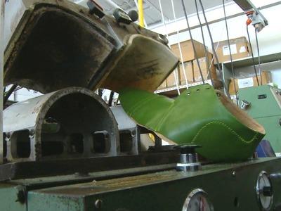 Making a Minnie Cooper shoe