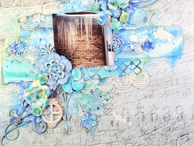 ★ Mixed Media Layout For Once Upon A Sketch (Tutorial)