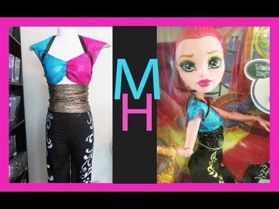 Monster High Gigi Grant Costume Tutorial