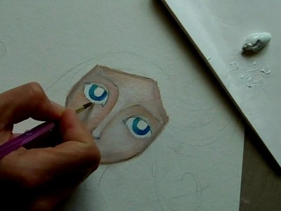 Painting a Mixed Media Portrait - Part 1