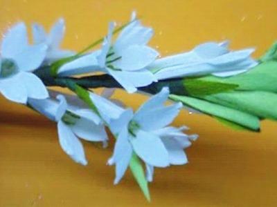 Paper flower - Tuberose. Rajnigandha