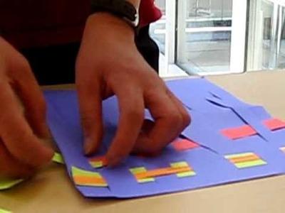 Paper Weaving III - Layering