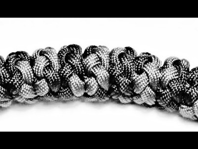 Paracordist How To Tie the Multi Strand Diamond Knot w. Paracord (Pt. 2 ALICE Pack Handle)