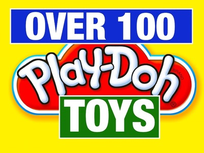 Play-Doh 100 Different Play Sets! Food, Pizza, Hair, Creations, Ice Cream Play Doh Mike Mozart