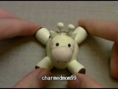Polymer Clay Kawaii Giraffe Tutorial ◕‿‿◕ (reupload)