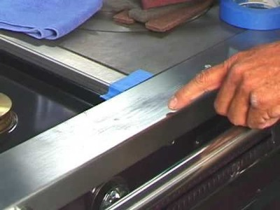 Restore Stainless steel appliance surfaces, remove scratches and more with Scratch-B-Gone