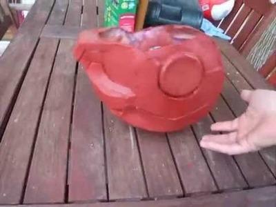 Rileys Iron Man Helmet Part 2