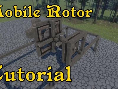 "Rotor On Mobile Platform - Medieval ""Tech"" Tutorial"