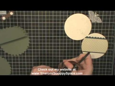 Scallop Circle Easel Card YouTube
