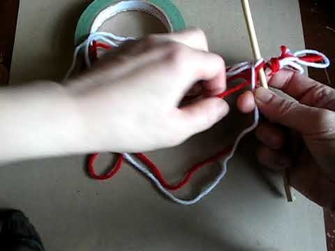 Setting up a Finger Weaving Project