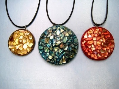 Shell Mosaic Necklace